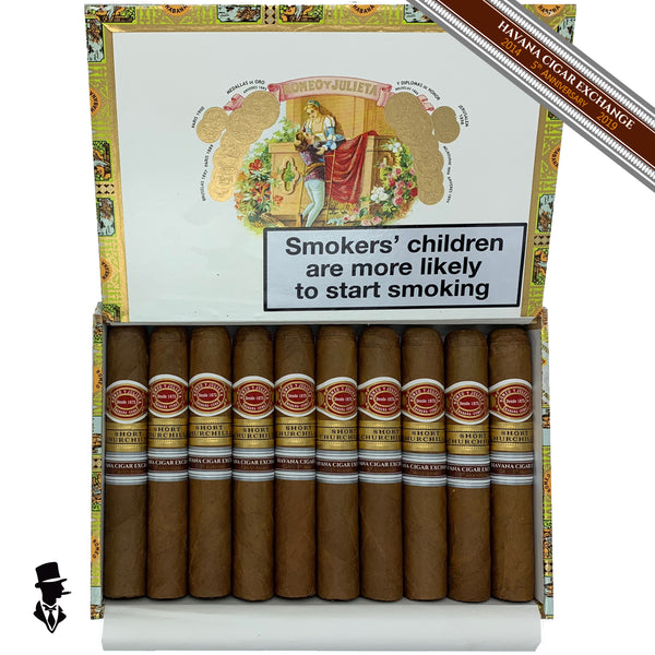 Romeo y Julieta - Short Churchill - Box of 10