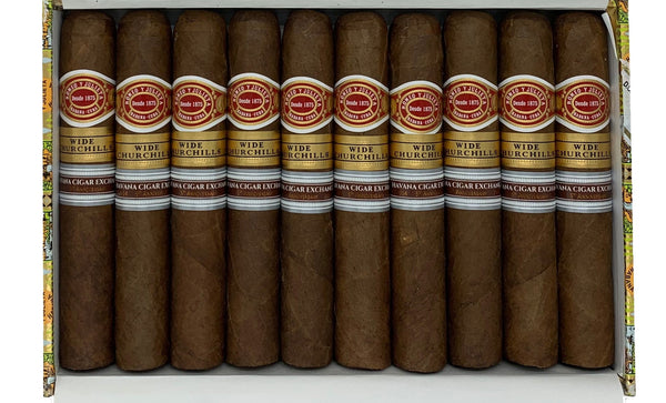 Romeo y Julieta - Wide Churchill - Box of 10