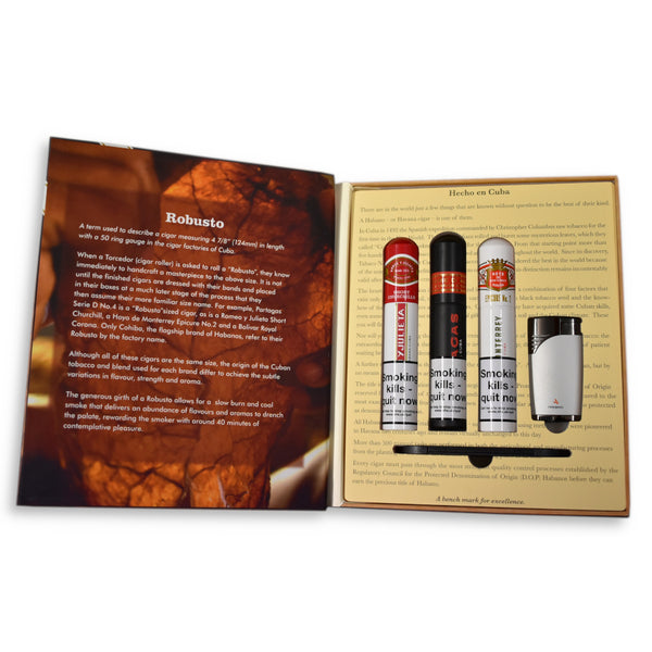 Robusto Book Habanos Gift Selection
