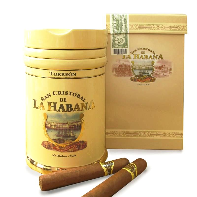 San Cristobal - Torreon Jar + Ashtray / 25 Cigars (2017)
