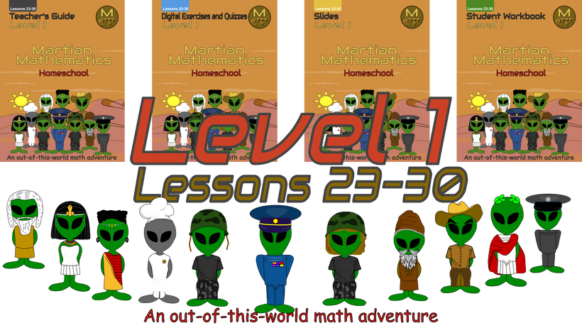 Level 1, Lessons 23-30