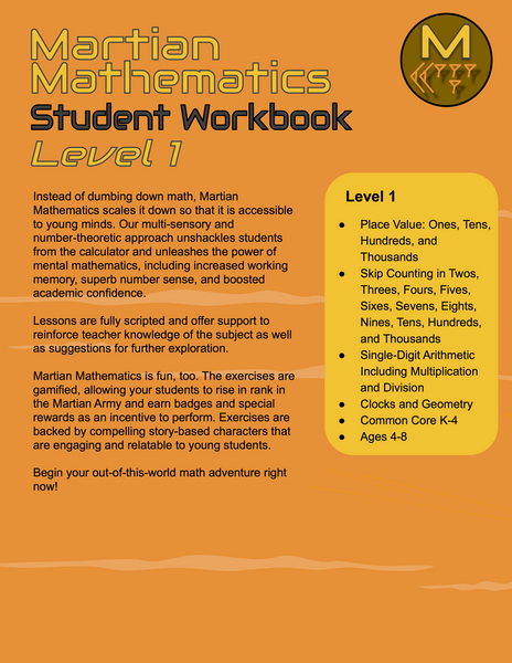 Level 1 Student Workbook, Lessons 16-22