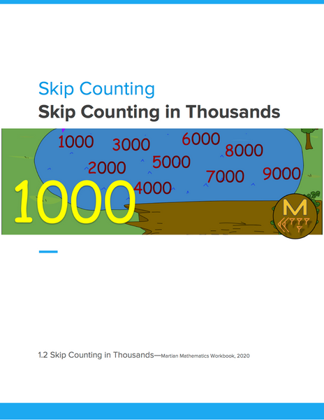 Skip Counting in Thousands