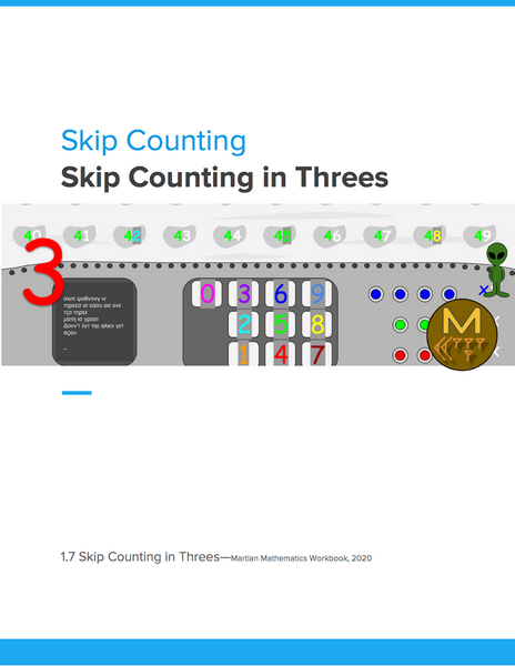 Skip Counting in Threes