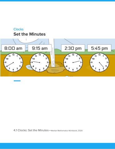Clocks: Set the Minutes