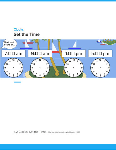Clocks: Set the Time