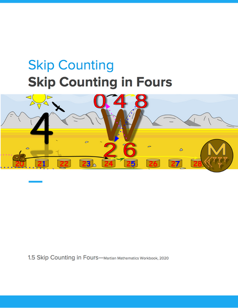 Skip Counting in Fours