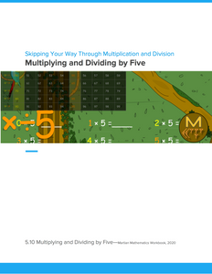 Multiplying and Dividing by Five