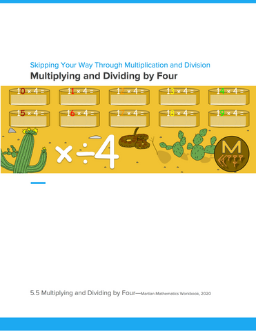 Multiplying and Dividing by Four