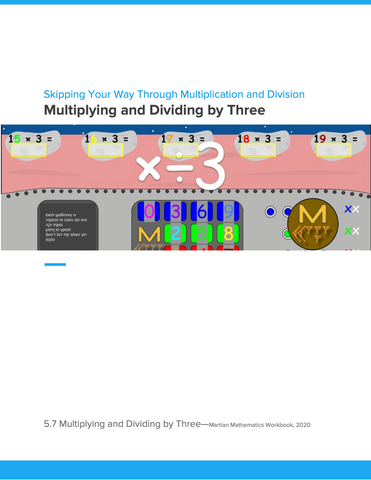 Multiplying and Dividing by Three