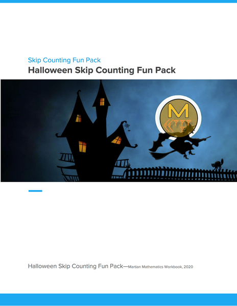 Halloween Skip Counting Fun Pack