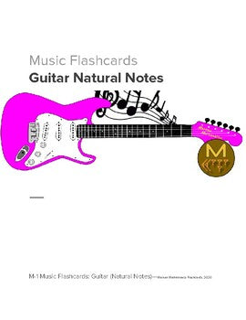 Music Flashcards: Guitar