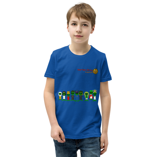 """Martian Army: Captain"" Youth Short Sleeve T-Shirt"