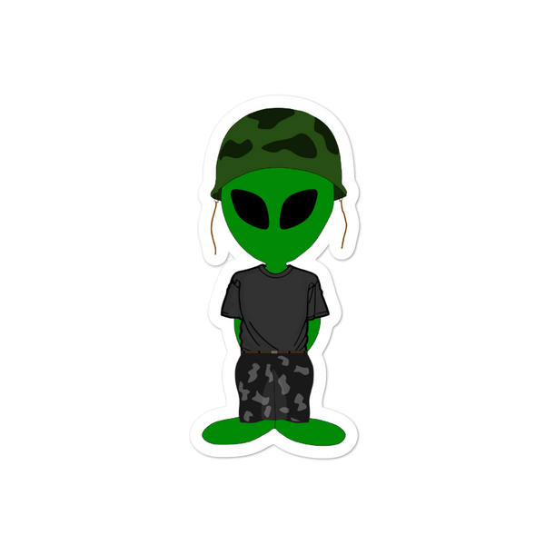"""Robert Martian"" Bubble-free stickers"