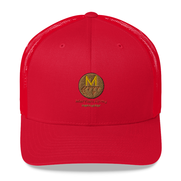 """Martian Army: Instructor"" Trucker Cap"