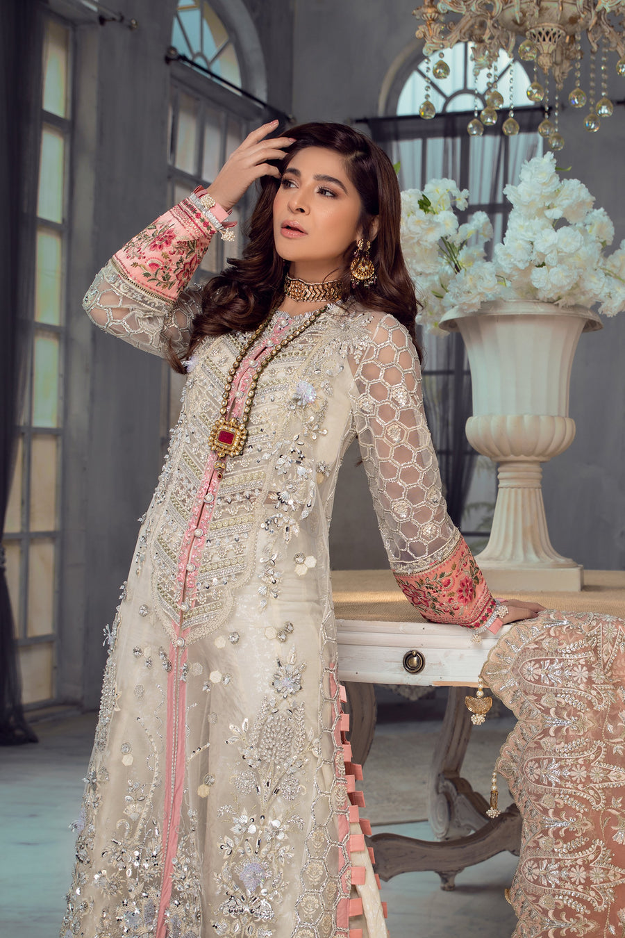 Maryam Hussain Jasmine Wedding Collection