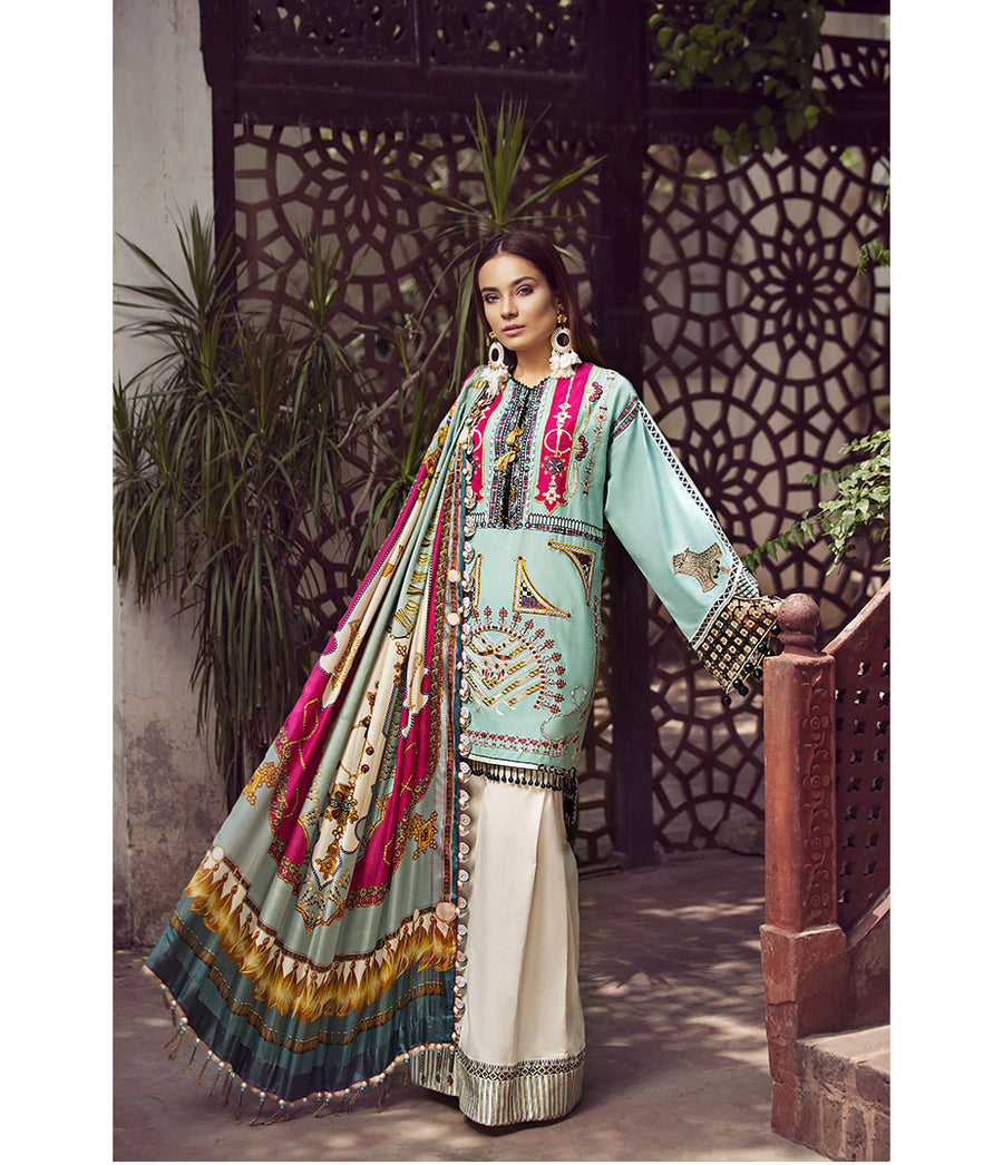 Maryum Hussain Online LAYLA Lawn Collecton 2020