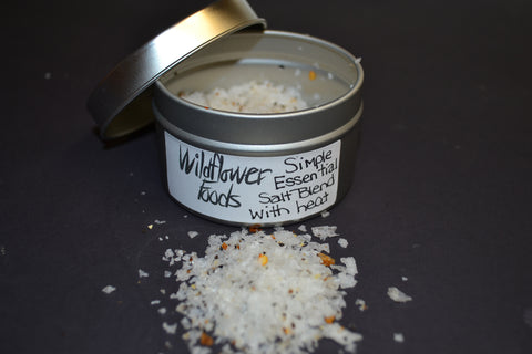 Wildflower Foods Simple Essential Salt Blend With Heat