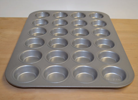 Non-Stick Mini Muffin Pan, 24 cup by Chicago Metallic