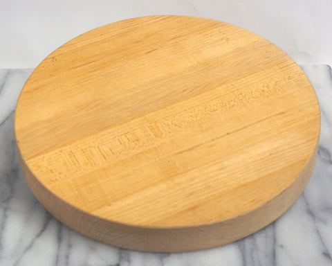 Vintage Round Chopping Block, 13