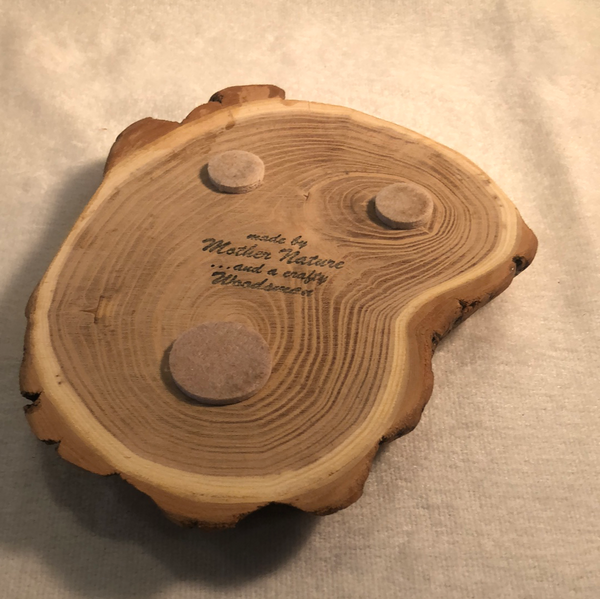 "Crafty Woodsmen Decorative Wooden ""Cookie"" #1"
