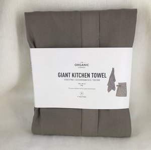 Giant towel apron