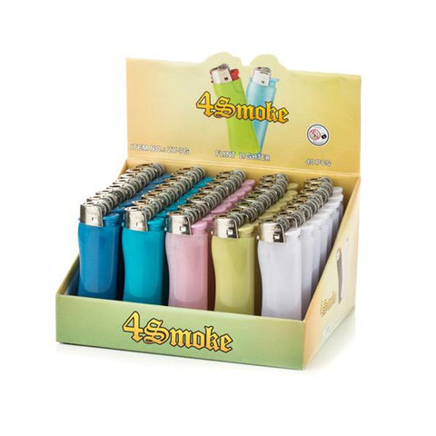 40 x 4Smoke Electronic Printed Lighter