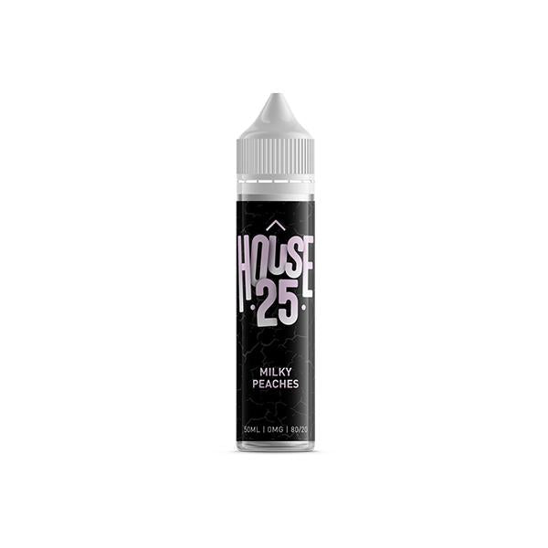 House 25 0mg 50ml Shortfill E-liquid (70VG/30PG)