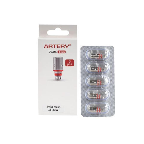 Artery Pal II Replacement Coils 0.6Ohms/1.2Ohms