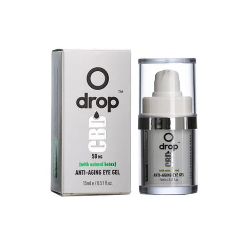 Drop CBD  Anti-Aging Eye Gel 50mg CBD 15ml