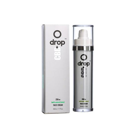 Drop CBD Face Cream 250mg CBD 50ml