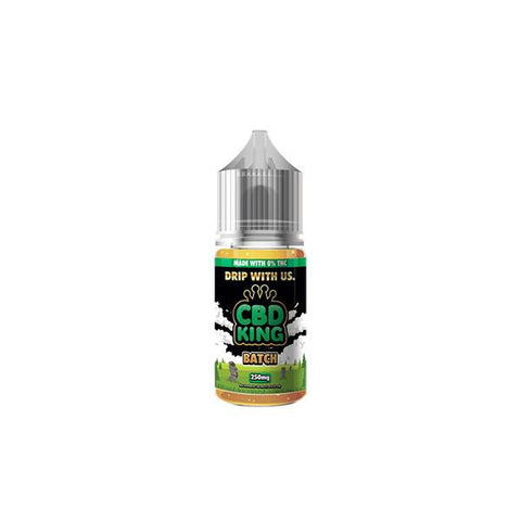 CBD King 250MG CBD 30ml E-Liquid (70VG/30PG)