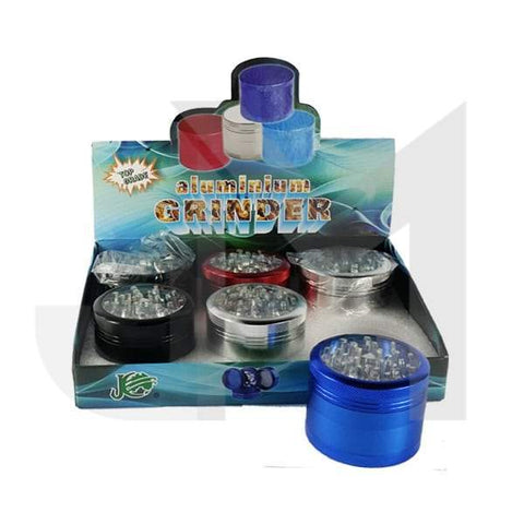 4 Parts JC Aluminium Metallic Coloured 60mm Grinder