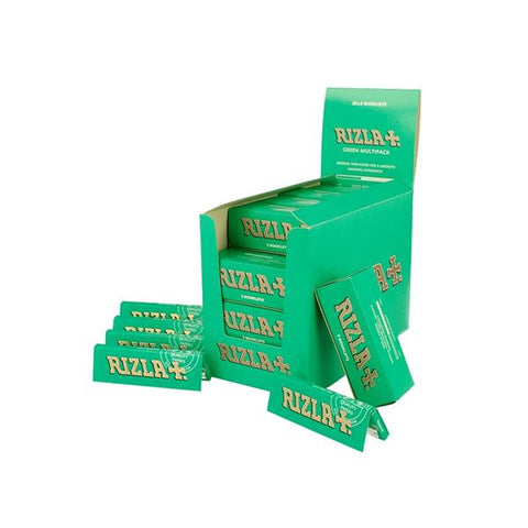 100 Green Multipack Regular Rizla Rolling Papers