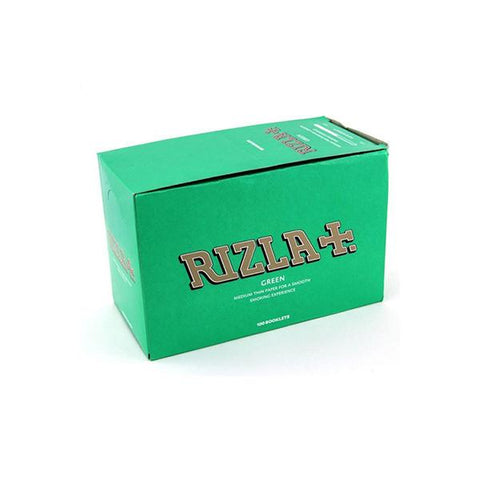 100 Green Regular Rizla Rolling Papers