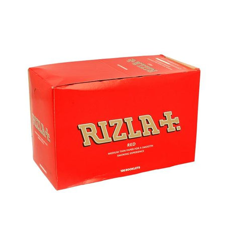 100 Red Regular Rizla Rolling Papers