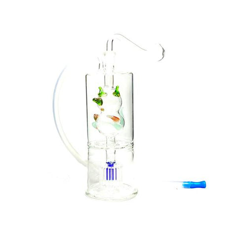 Stylish Glass Water Pipe - No 13