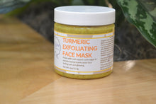 Load image into Gallery viewer, Turmeric exfoliating face mask.