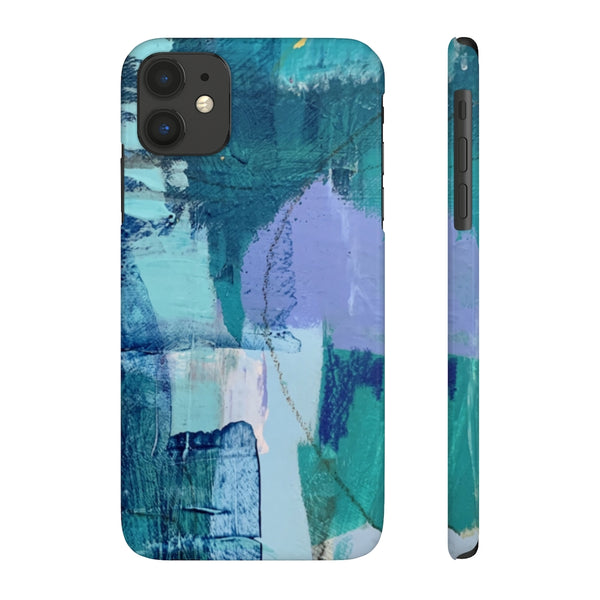Blue Panel #1 - Phone Case