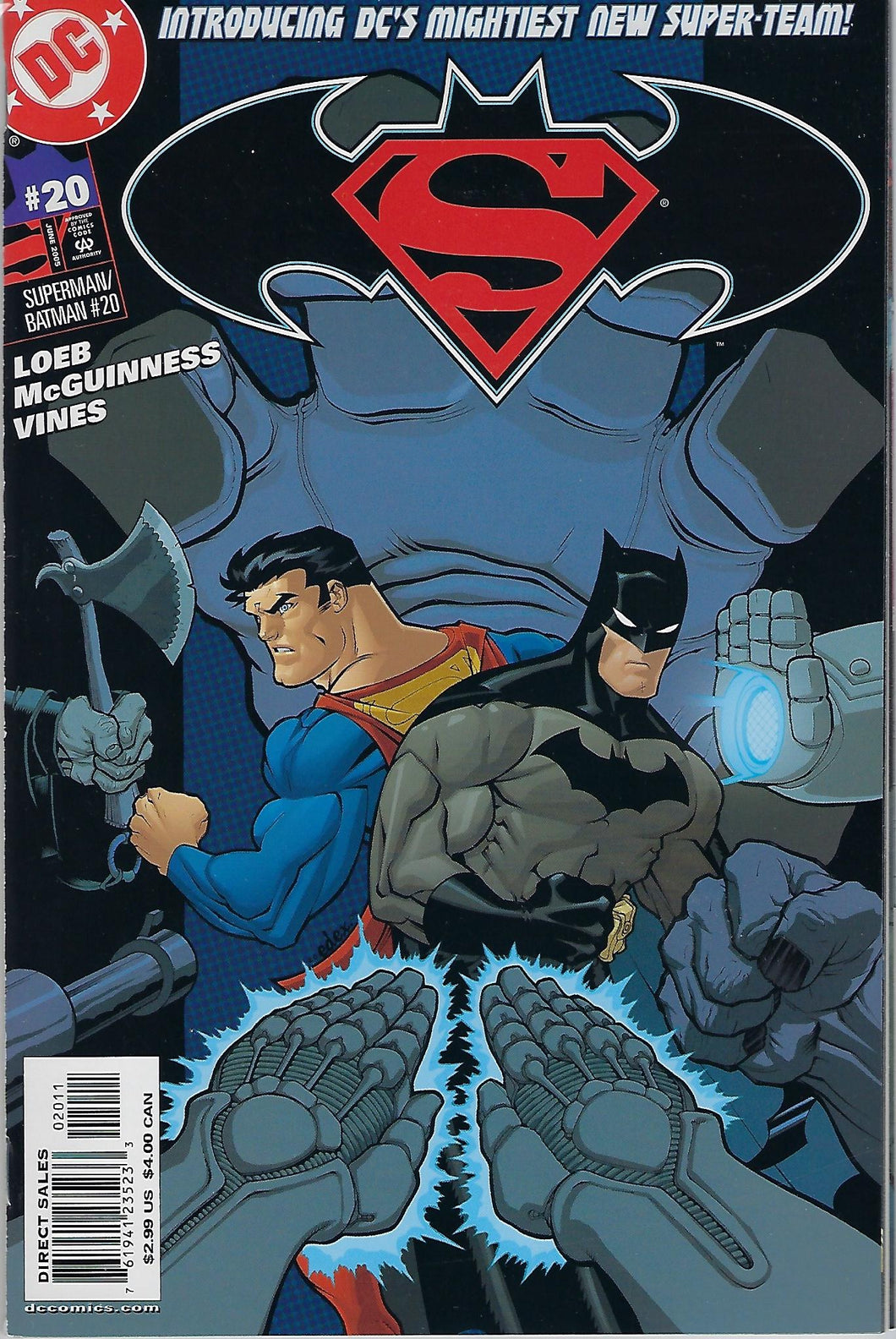 Superman / Batman # 20 Variant Cover !!! VF/NM