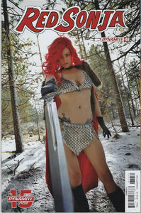 "Red Sonja # 7 Layne Mychael Cosplay Photo Variant Cover ""E"" !!   NM"