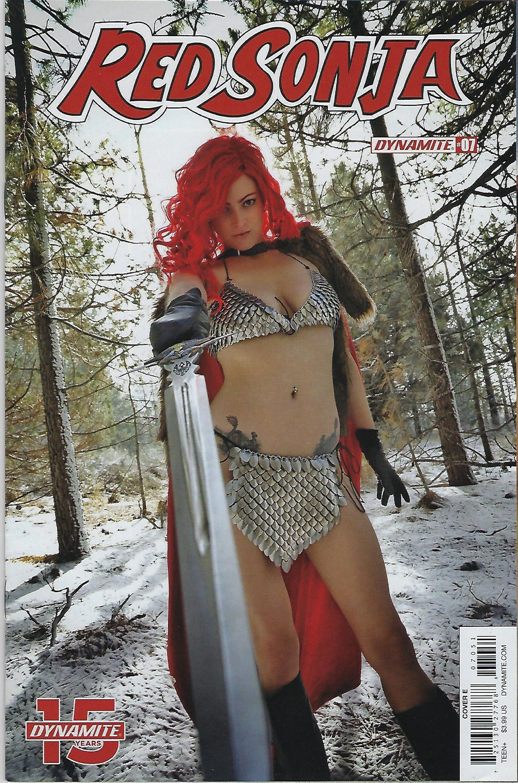 Red Sonja # 7 Layne Mychael Cosplay Photo Variant Cover