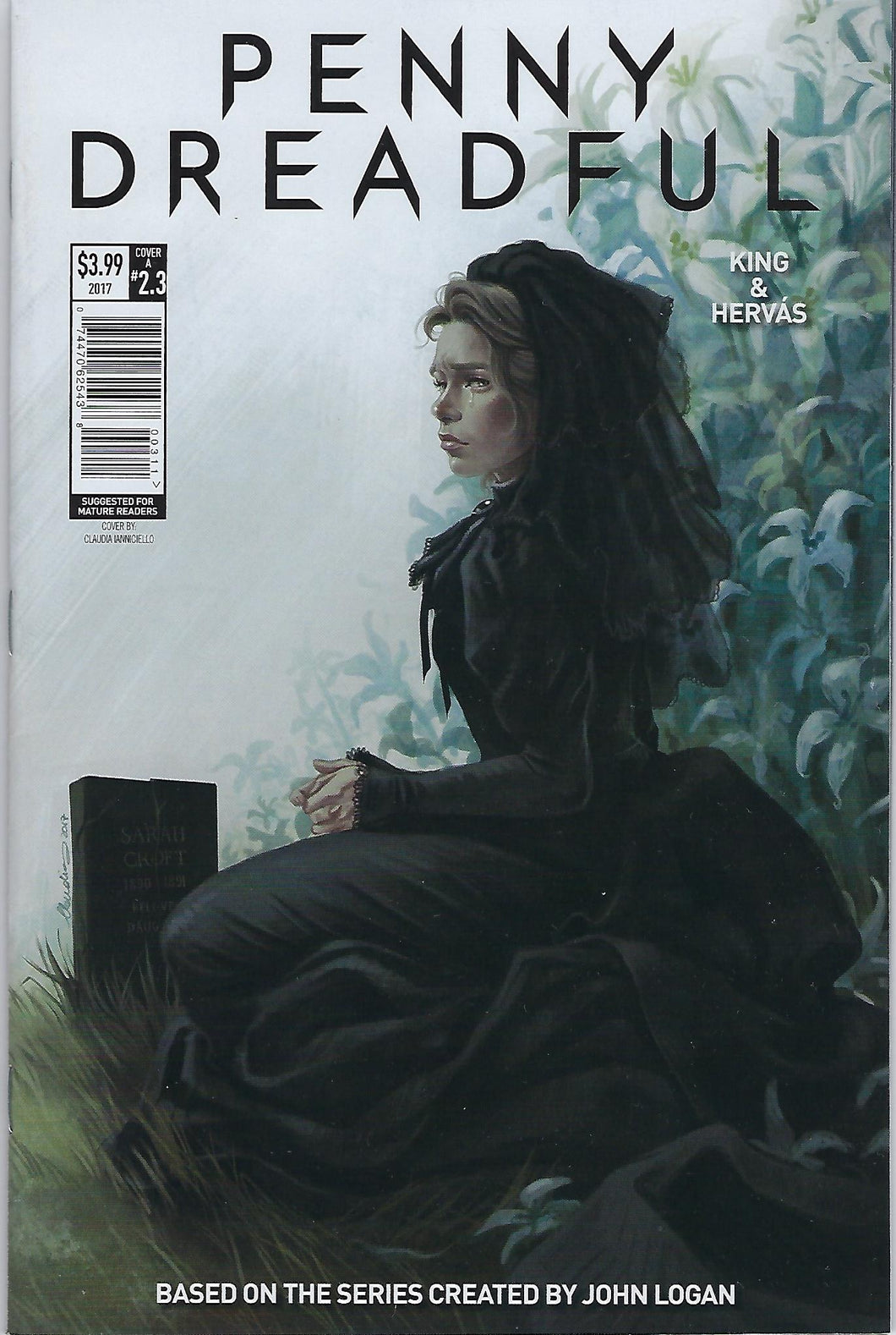 Penny Dreadful # 2.3 Cover