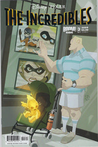 The Incredibles # 3 of 4  !!! Disney / Pixar !!!  NM