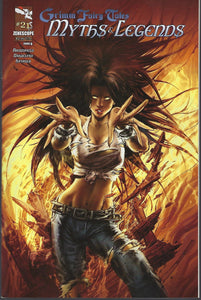 "Grimm Fairy Tales : Myths & Legends # 21 Keu Cha Variant Cover ""A""  !!!   NM"