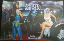 Load image into Gallery viewer, White Widow #3 Benny Powell Deadly Masquerade 11 x 17 Lim Uncut Prism # 1/50 NM