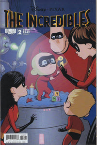 "The Incredibles # 2 Cover ""B"" !!!  VF/NM"
