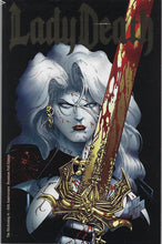 Load image into Gallery viewer, Lady Death : The Reckoning #1 !! 25th Anniversary Premium Foil Edition !!  NM