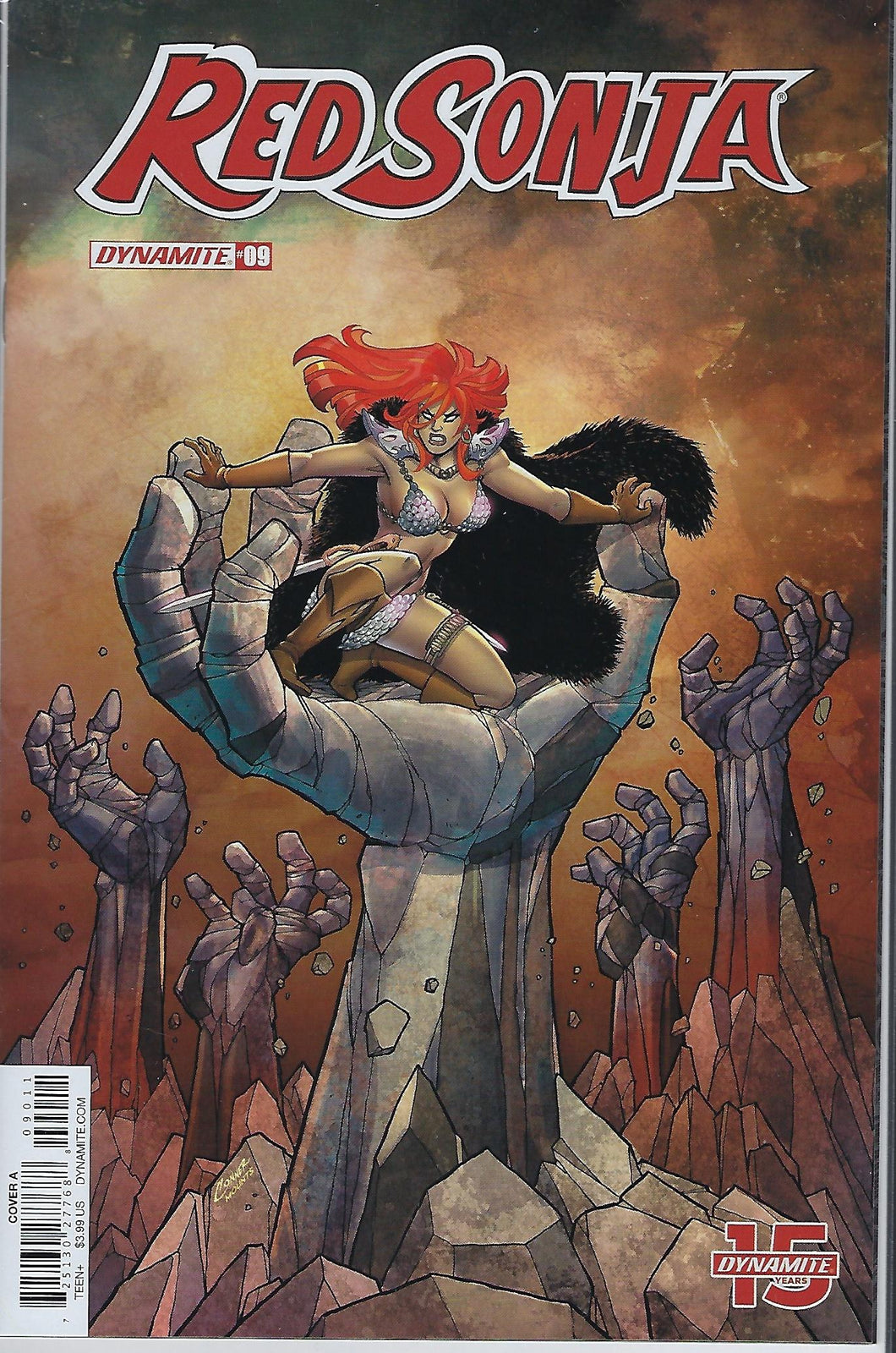 Red Sonja # 8 Amanda Conner Variant Cover !!!  VF/NM