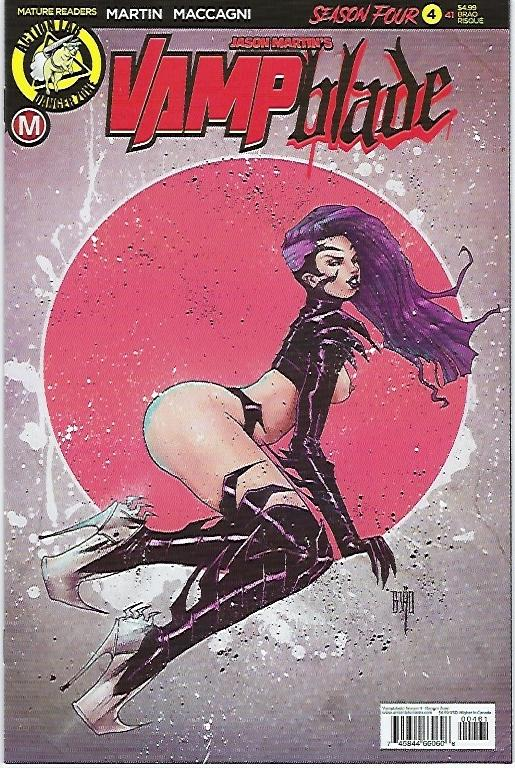 VAMPBLADE # 4 BRAO RISQUE VARIANT COVER LIMITED TO 1500  !!!      NM